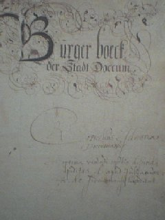 Burgerboek Dokkum