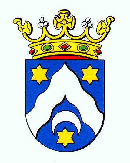 Het wapen van de gemeente Dongeradeel