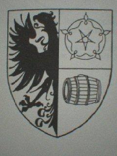 Burgerwapen Jeppe Jelkes (de Jongh), bierdrager
