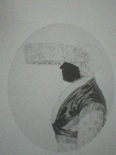 Silhouet van Trijntje Hotzes van Sinderen (1735-1805)