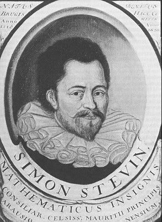 Portret van Simon Stevin
