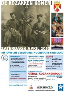 Viering 25-jarig jubileum Historische Vereniging Noordoost-Friesland te Dokkum