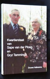 Nieuw boek Kwartierstaat van Sape van der Ploeg en Gryt Tamminga