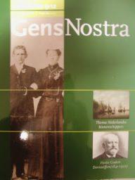 """De laatste """"Gens Nostra"""" van 2013, themanummer Binnenschippers"""