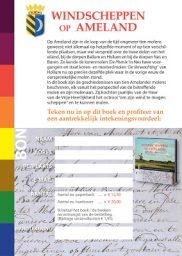 Namenindex en Intekenvoordeel boek Windscheppen op Ameland