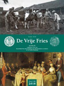 Cover De Vrije Fries 2018, Fryske Akademy
