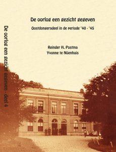 Omslag boek Oostdongeradeel in de oorlog 1940-1945 Reinder Postma