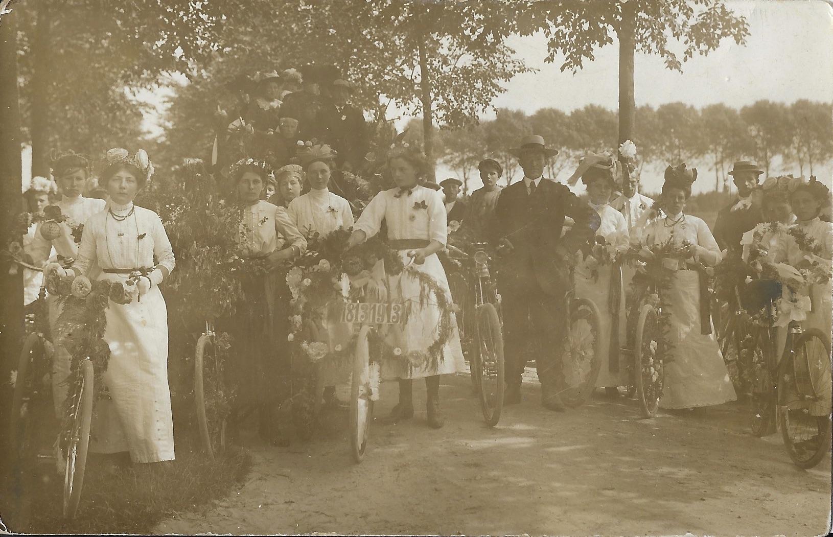 Onafhankelijkheidsfeest Kollumerpomp 1913