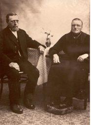 Frans Jacob Bos en Fokeltje van der Molen