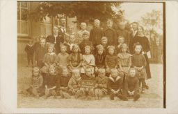 Schoolfoto Kollumerpomp 1925