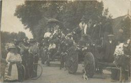Bevrijdingsfeest Napoleontische oorlog feest Lioessens 1913