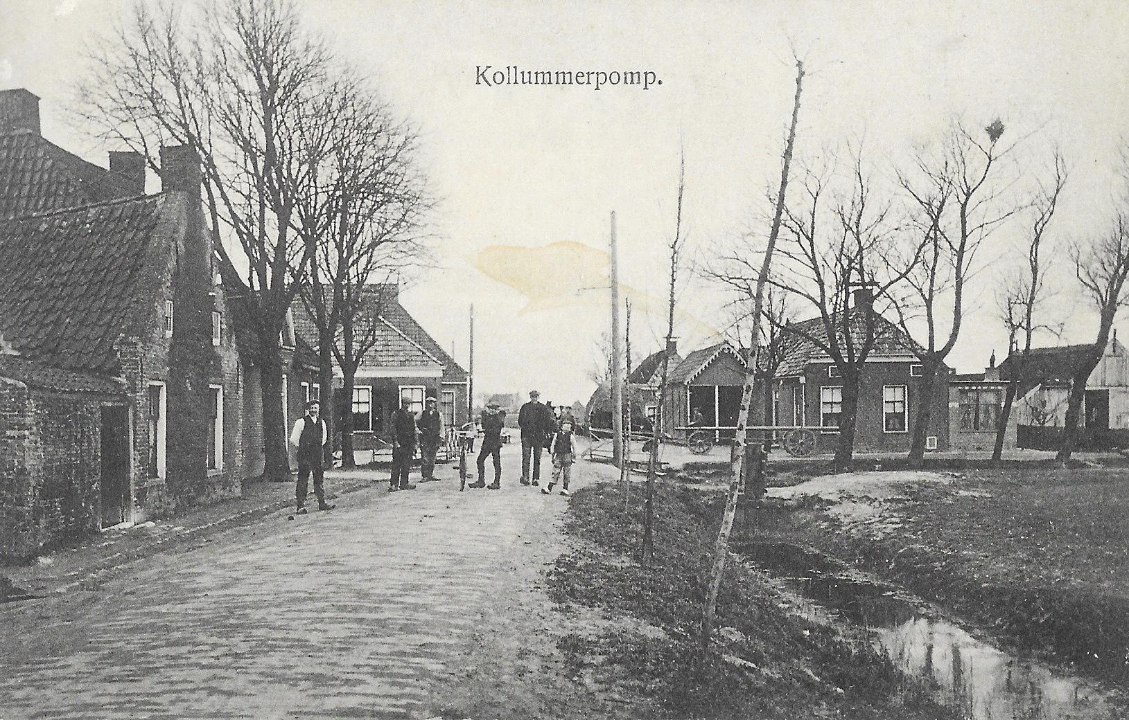 Ansicht Kollumerpomp 1913