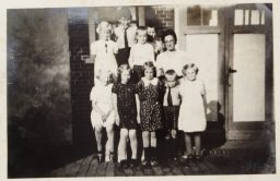 Schoolfoto Munnekezijl 1939