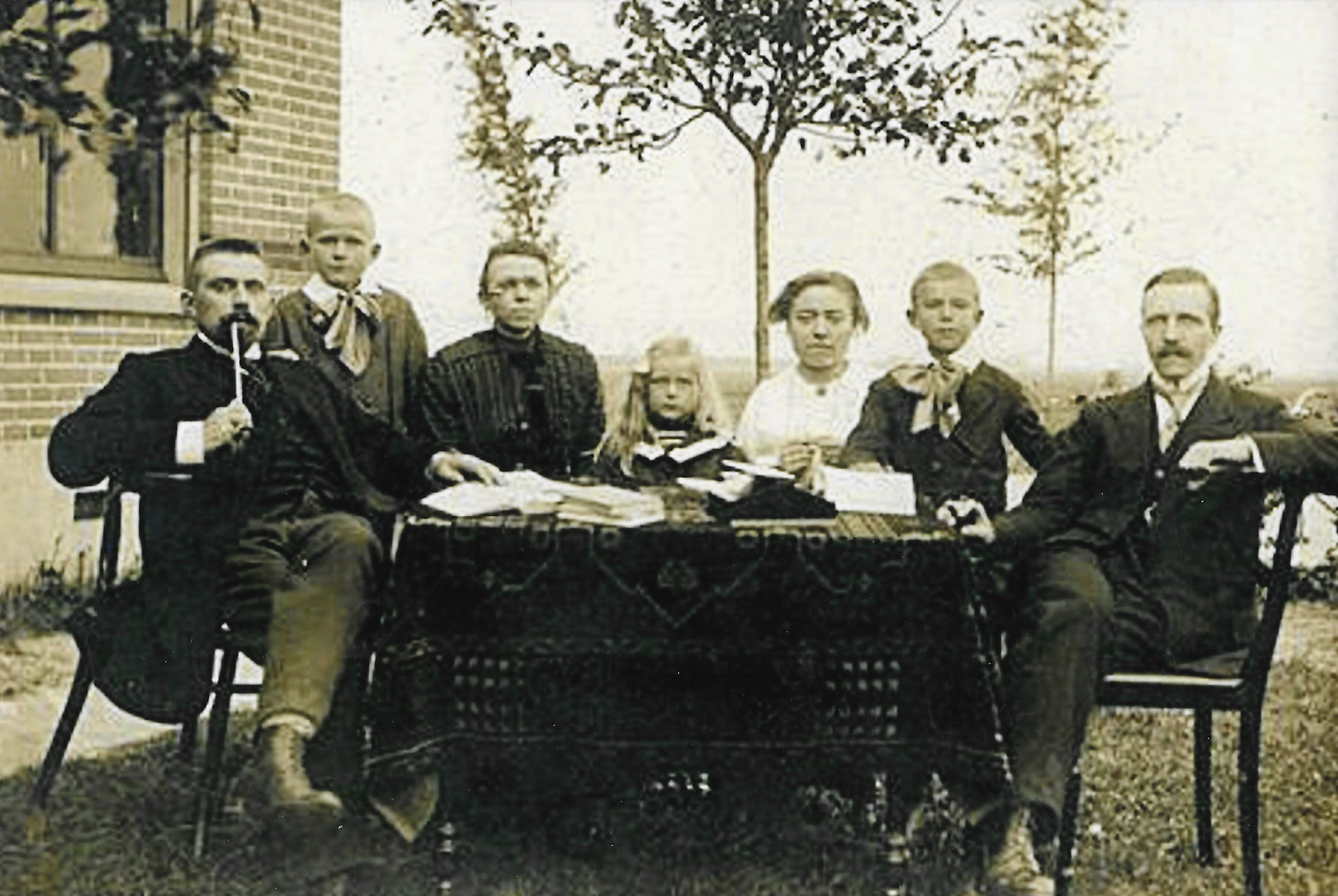 Personeel Chr. school te Kollumerpomp 1916