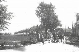 Ansicht  brug Kollumerpomp 1930