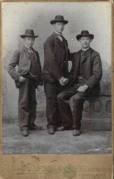 Tymen, Kornelis en Willem van der Horn.