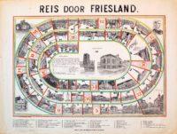 Fries ganzenbord uit 1880