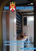 De Sneuper 132, december 2018, met apothekersfamilies, galkoorts en Kollum