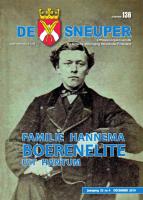 De Sneuper 136, december 2019, met Hannema, Van Collem, Sjuxma en mooie vondsten