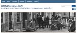 Hondenkarren in Noordoost-Friesland