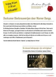 Lezing Dockumer Bierbrouwerijen door Warner Banga