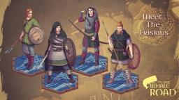 Vroeg-middeleeuwse Friezen op de Grote Walvisweg
