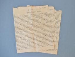 Honderden liefdesbrieven van Jaap Broersma (93) naar Tresoar