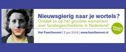 Historische Vereniging Noordoost Friesland deelnemer Famillement te Utrecht