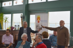 Grote opkomst lezing Willem Wilstra tijdens ledendag in Oostmahorn